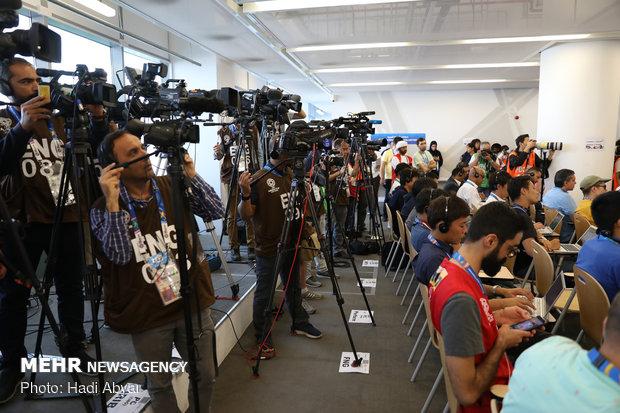 نشست خبری سرمربی تیم ملی فوتبال پیش از دیدار با ژاپن - 21