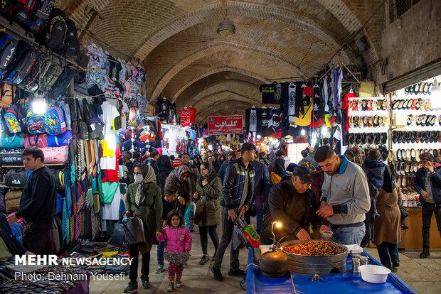 تب و تاب بازار اراک در آستانه نوروز - 16
