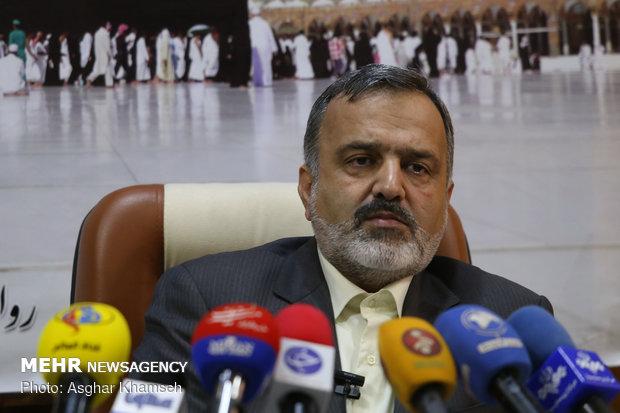 تصاویر نشست خبری رئیس سازمان حج و زیارت - 6