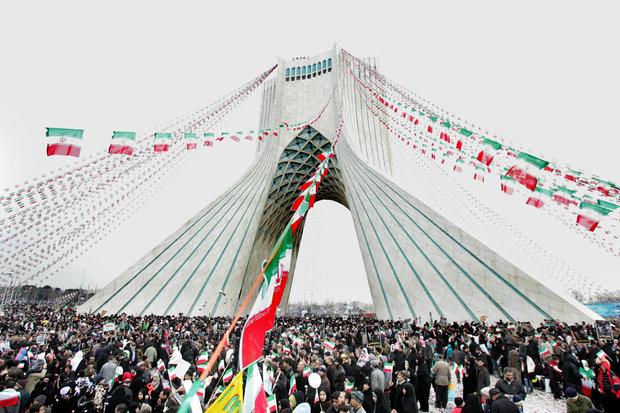 مراسم چهلمین جشن پیروزی انقلاب اسلامی در سراسر کشور آغاز شد