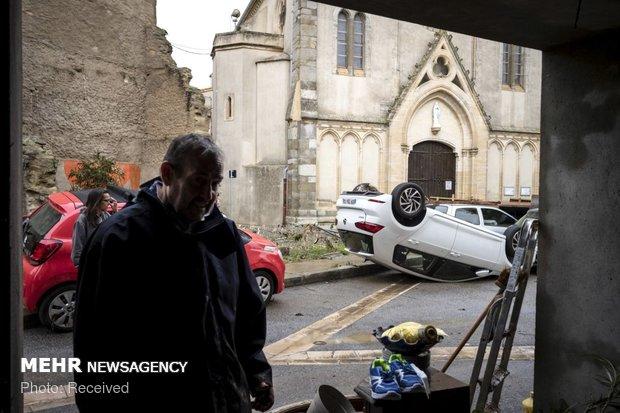 خسارات سیل در فرانسه - 1