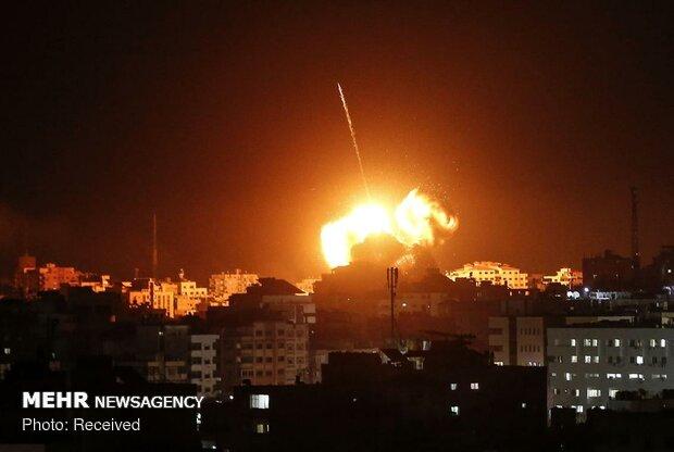 بمباران غزه توسط جنگندههای صهیونیستی - 7