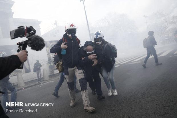 سیزدهمین شنبه اعتراضات در فرانسه - 8