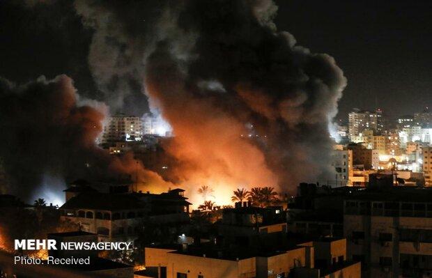 بمباران غزه توسط جنگندههای صهیونیستی - 11