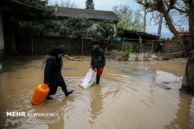 اولین روز نوروز سیل زدگان مازندران - 20