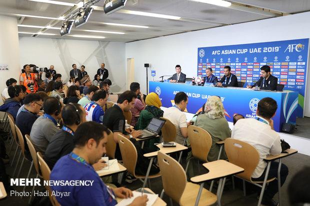نشست خبری سرمربی تیم ملی فوتبال پیش از دیدار با ژاپن - 12