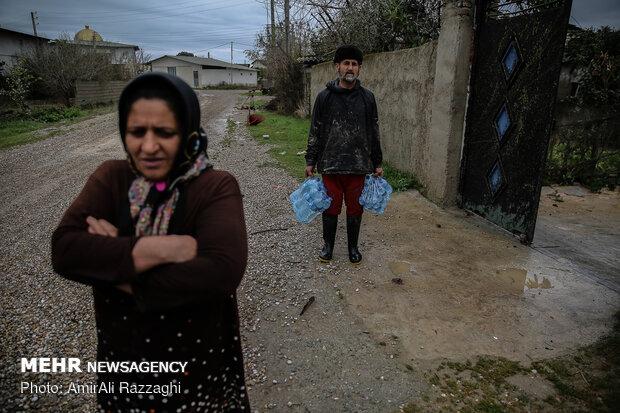 اولین روز نوروز سیل زدگان مازندران - 12