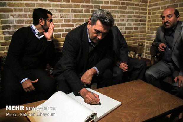 بازدید شهردار تهران از خانه موزه مدرس - 38