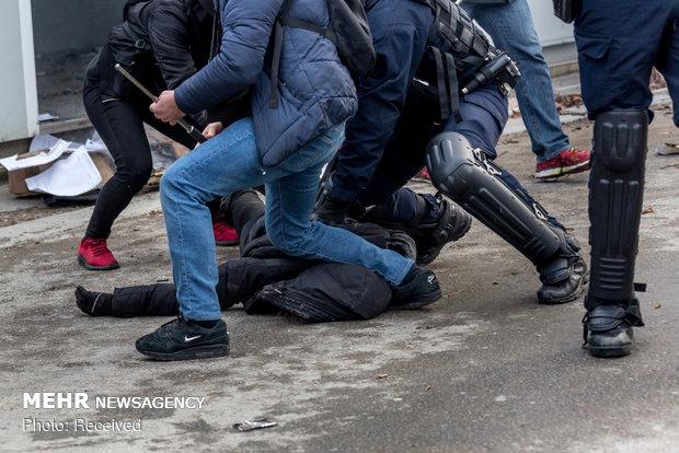 سیزدهمین شنبه اعتراضات در فرانسه - 43