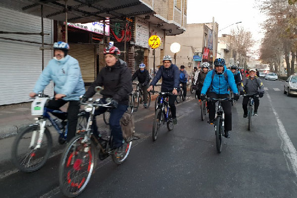 ۴۰ کیلومتر مسیر دوچرخه سواری ایمن در قزوین ایجاد شده است - 7
