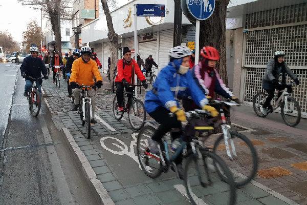 ۴۰ کیلومتر مسیر دوچرخه سواری ایمن در قزوین ایجاد شده است - 12