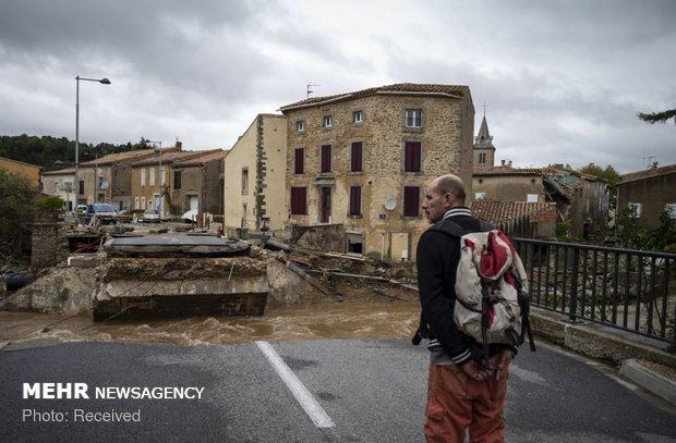 خسارات سیل در فرانسه - 36