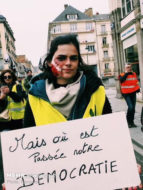 سیزدهمین شنبه اعتراضات در فرانسه - 33