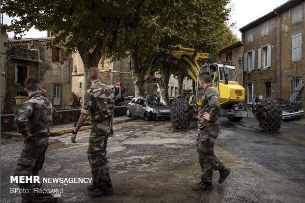 خسارات سیل در فرانسه - 18