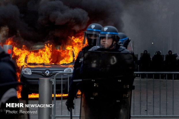 سیزدهمین شنبه اعتراضات در فرانسه - 47