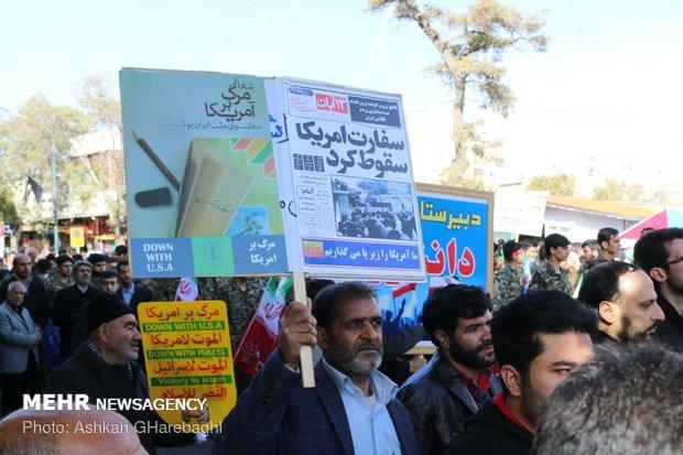 راهپیمایی استکبار ستیزی ۱۳ آبان در استانها - 18