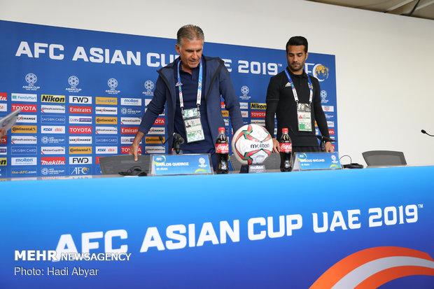 نشست خبری سرمربی تیم ملی فوتبال پیش از دیدار با ژاپن - 8