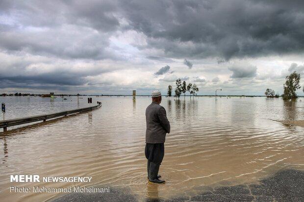 شدت گرفتن سیلاب در روستاهای استان گلستان - 1