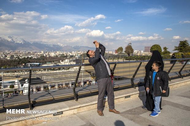 حال و هوای تهران در تعطیلات عید - 10