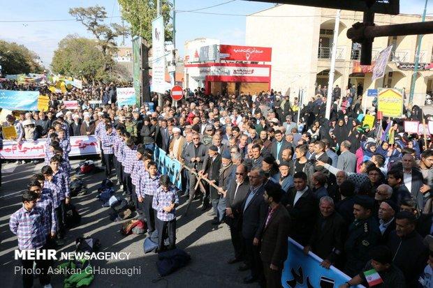 راهپیمایی استکبار ستیزی ۱۳ آبان در استانها - 14