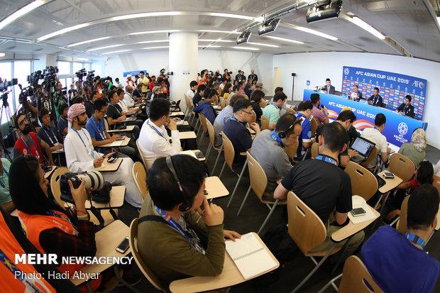 نشست خبری سرمربی تیم ملی فوتبال پیش از دیدار با ژاپن - 23