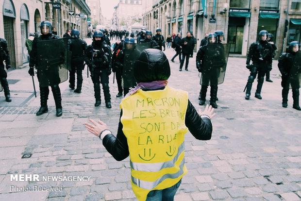 سیزدهمین شنبه اعتراضات در فرانسه - 29