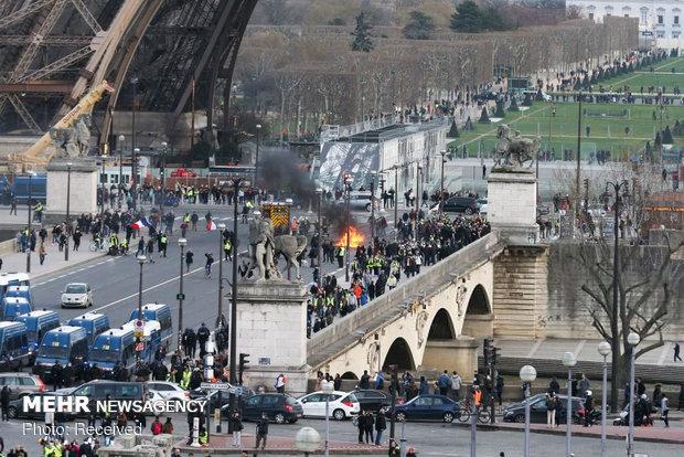 سیزدهمین شنبه اعتراضات در فرانسه - 20