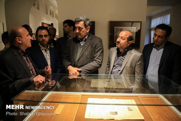 بازدید شهردار تهران از خانه موزه مدرس - 42