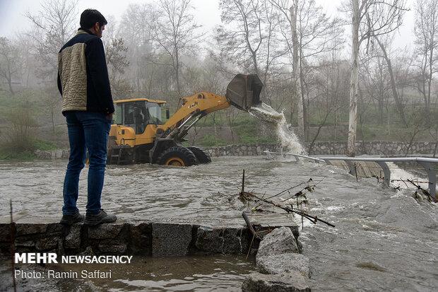 طغیان مسیل اصلی شهر مشهد - 25