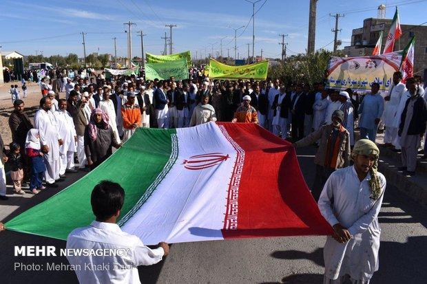راهپیمایی استکبار ستیزی ۱۳ آبان در استانها - 24
