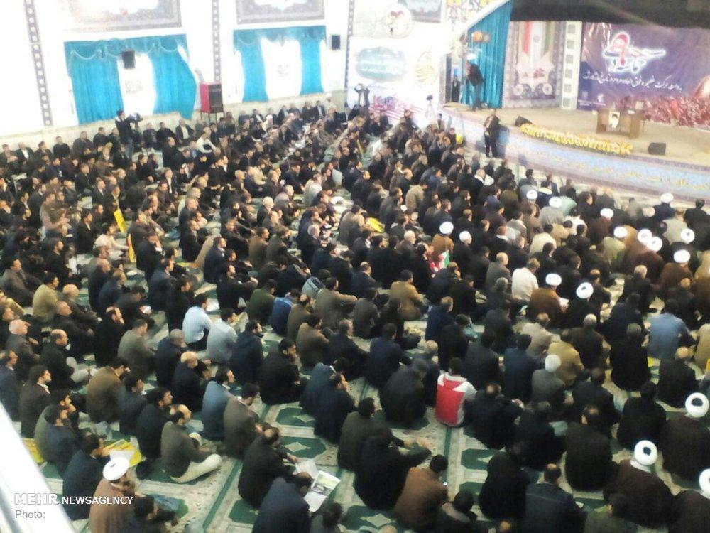 مراسم گرامیداشت حماسه ۹ دی در مرکز لرستان آغاز شد - 1