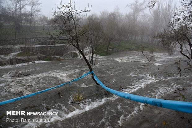 طغیان مسیل اصلی شهر مشهد - 19