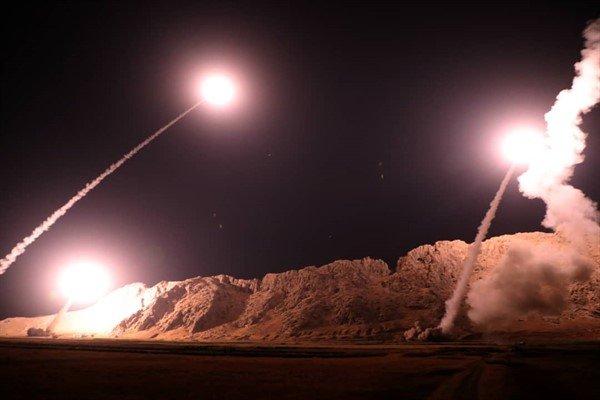 نخستین تصاویر حمله موشکی سپاه به مقر تروریست ها - 5