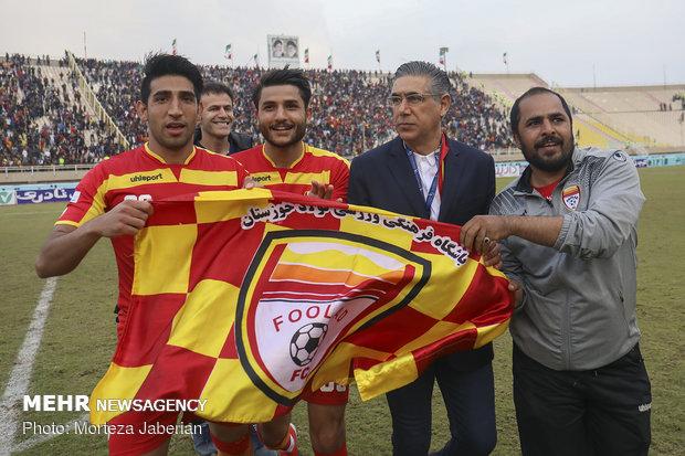 دیدار تیمهای فوتبال فولاد خوزستان و پرسپولیس تهران - 115