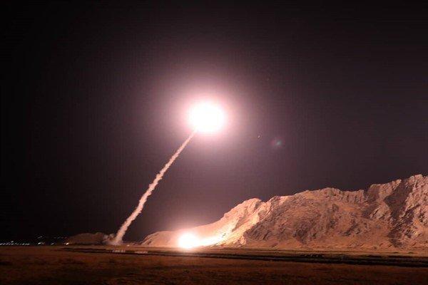 نخستین تصاویر حمله موشکی سپاه به مقر تروریست ها - 4
