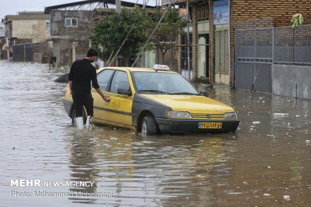 شدت گرفتن سیلاب در روستاهای استان گلستان - 55