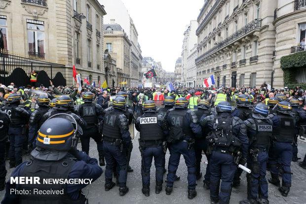 سیزدهمین شنبه اعتراضات در فرانسه - 24
