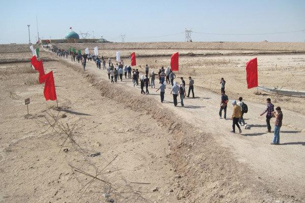 نمایشگاه «گذر انقلاب از دفاع مقدس» در ساری برگزار میشود