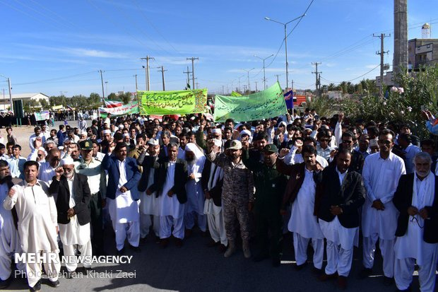راهپیمایی استکبار ستیزی ۱۳ آبان در استانها - 28