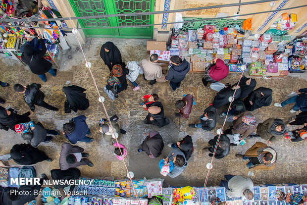 تب و تاب بازار اراک در آستانه نوروز - 33