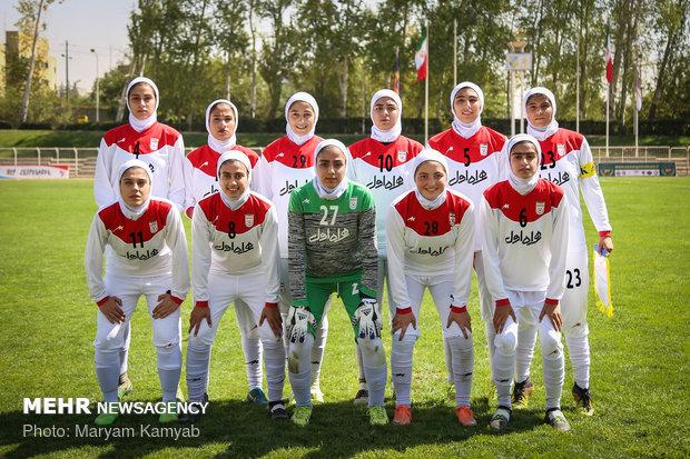 دیدار فوتبال دختران ایران و اردن - 10