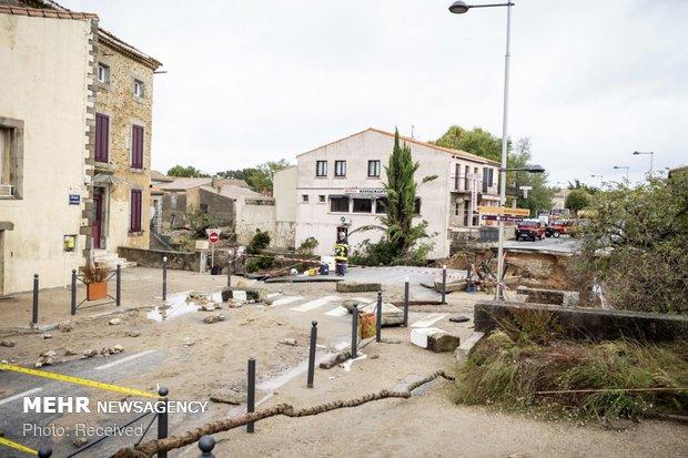 خسارات سیل در فرانسه - 20