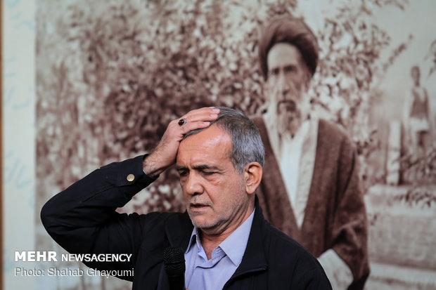 بازدید شهردار تهران از خانه موزه مدرس - 10