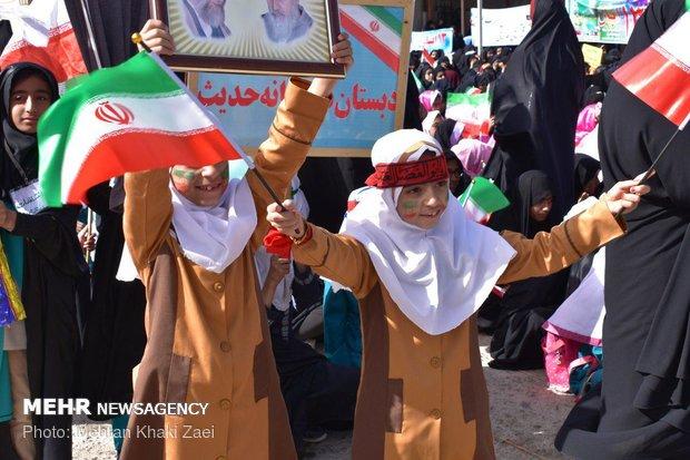 راهپیمایی استکبار ستیزی ۱۳ آبان در استانها - 32
