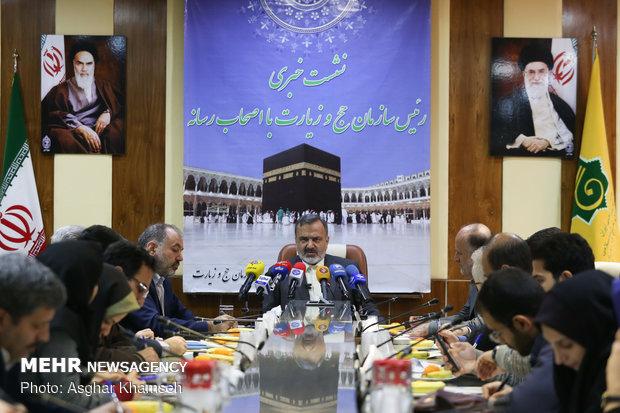 تصاویر نشست خبری رئیس سازمان حج و زیارت - 8