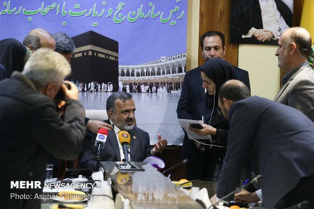 تصاویر نشست خبری رئیس سازمان حج و زیارت - 16