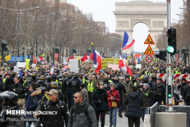 سیزدهمین شنبه اعتراضات در فرانسه - 18