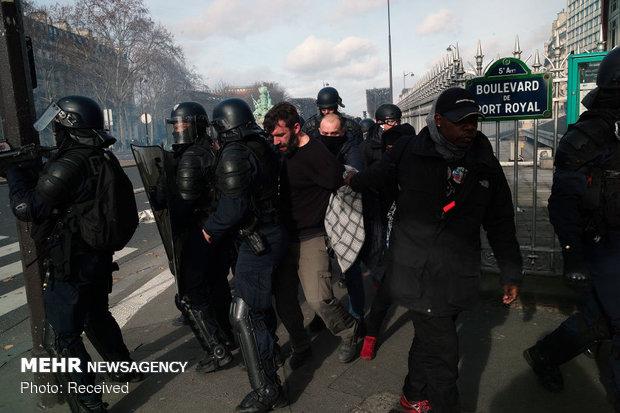 سیزدهمین شنبه اعتراضات در فرانسه - 41
