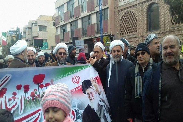 حاشیههای راهپیمایی ۲۲ بهمن در ارومیه/سرما مانع حضور نشد - 1