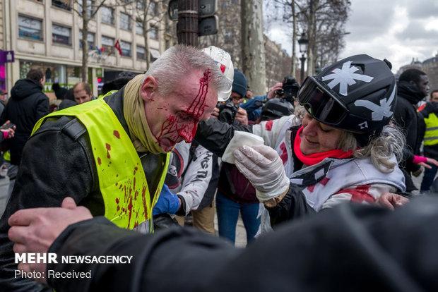سیزدهمین شنبه اعتراضات در فرانسه - 55